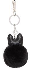 Tamaris čierny prívesok na kľúče Kara Key Holder - Cat 7245192