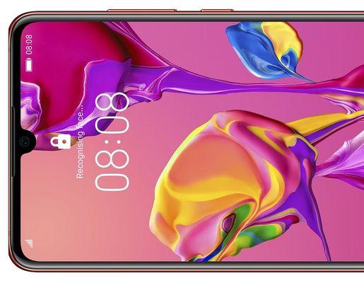huawei p30 gradient design 16,7 milionów kolorów 6,1-calowy wyświetlacz oled niewielka waga