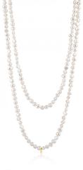 Tous Luxusní náhrdelník z pravých perel 917092000 zlato žluté 585/1000