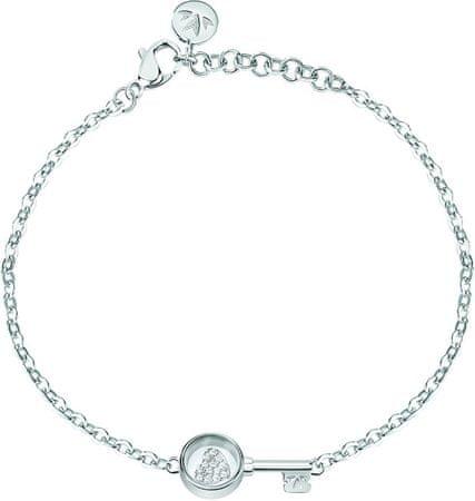 Morellato Srebrna zapestnica z elementom Scrigno D`Amore SAMB47 srebro 925/1000