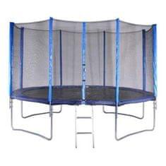 Spartan trampolin + mreža + lestev, 426cm