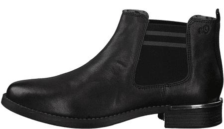 s.Oliver dámská kotníčková obuv 25335 36 černá