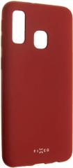 Fixed Zadní pogumovaný kryt Story pro Samsung Galaxy A40, červený FIXST-400-RD