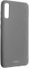 Fixed Zadní pogumovaný kryt Story pro Samsung Galaxy A70, šedý FIXST-402-GR
