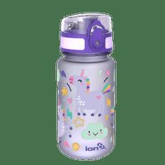 ion8 Dětská láhev na vodu One Touch 350 ml Jednorožci