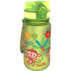 ion8 Dětská láhev na vodu One Touch 350 ml Opičky