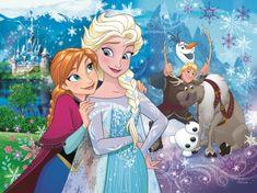 Trefl Puzzle Ledové království Uvolni magii 30 dílků