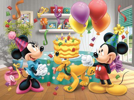Trefl Puzzle Mickey Mouse Oslava 30 dílků
