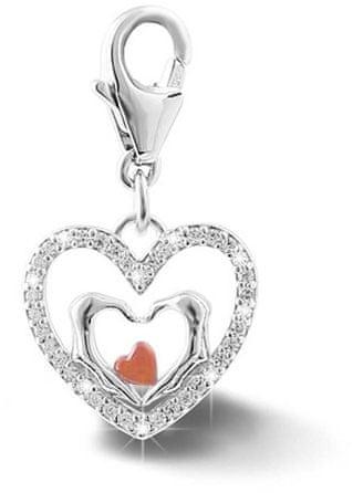 Infinity Love Ezüst szív medál HTS-354-S ezüst 925/1000