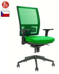 Emagra Kancelářská židle M1 - síťovaná - zelená