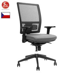 Emagra Kancelářská židle M1 - síťovaná - šedá