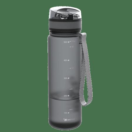 ion8 Fľaša na vodu One Touch 500 ml šedá