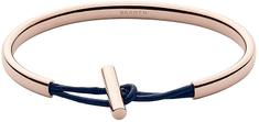 Skagen Jednolity brąz bransoletka str Skórzana m włączenie SKJ0983791