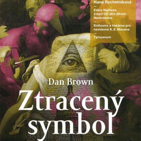 Brown Dan: Ztracený symbol (2x CD) - MP3-CD