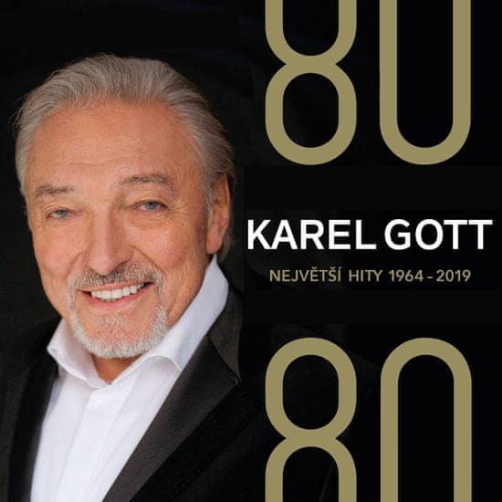 Gott Karel: 80/80 - Největší hity 1964-2019 (4x CD) - CD