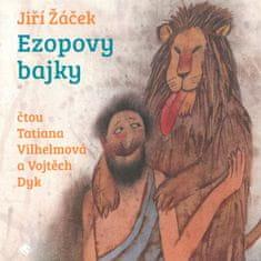 Žáček Jiří: Ezopovy bajky - MP3-CD