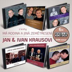 Kraus Jan, Kraus Ivan: Má rodina a jiná zemětřesení - MP3-CD