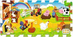 Trefl Pěnové puzzle Farma 0+
