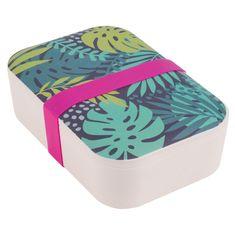 Portobello By Inspire bambusový svačinový box Botanical