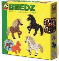 SES Vasalható gyöngyök - sörényes lovak