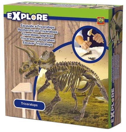 SES T-rex csontváz