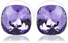 Vicca Small Square Violet fülbevaló OI_405052_violet