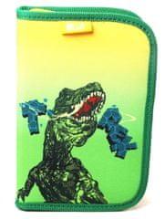 Animal Planet prazna peresnica z zadrgo in 2 preklopoma T-rex