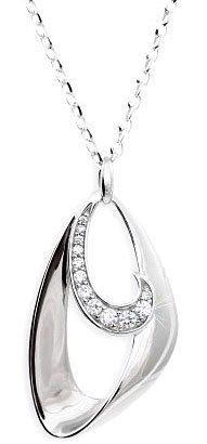 Modesi nyaklánc JA51346CZ ezüst 925/1000