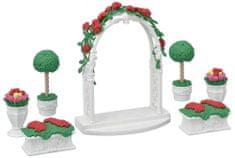 Sylvanian Families Dekoracja kwiatowa z bramą