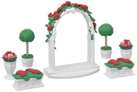 Sylvanian Families Květinová výzdoba s bránou