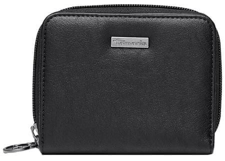 Tamaris Pénztárca Donna Small Zip around wallet w. snap 7231192-001 Black