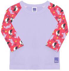 Bambinomio dievčenské plavecké tričko UV 50+