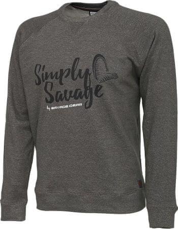 35ef7ab1a Savage Gear Mikina Simply Savage Sweater XXL   MALL.SK