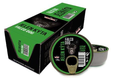 FALCO Dog jelení kýta 8x120g