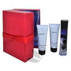 Giorgio Armani Code For Women - woda perfumowana 50 ml + żel pod prysznic 75 ml + mleczko do ciała 75 ml