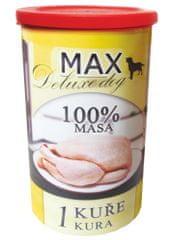 FALCO karma dla psów MAX deluxe 1 kurczak, 1200 g