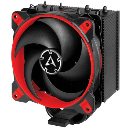 Arctic Cooling hladilnik Freezer 34 eSports, rdeč, za procesorje Intel/AMD