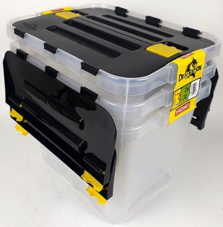 Heidrun set kutija Dragon Box, 3 x 24 l