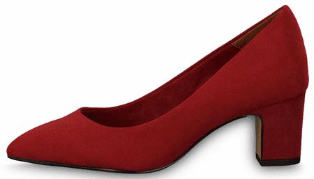 Tamaris czółenka damskie 22423 36 czerwone