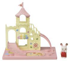 Sylvanian Families dziecięcy plac zabaw w zamku
