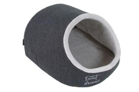 O´ lala Pets Bella 52 x 45 cm ležišče za pse, temno sivo