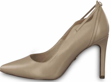 Tamaris 22401 ženski čevlji s peto, 40, bež