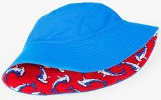 Hatley kapelusz chłopięcy z rekinami i ochroną UV