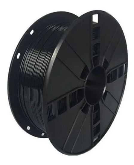 Gembird tlačová struna (filament), PETG, 1,75 mm, 1 kg čierna