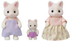 Sylvanian Families Rodina 3 květinové kočky