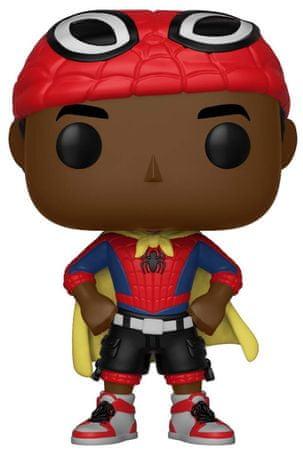 Funko POP Marvel Bobble Spider-Man Miles w/ Cape