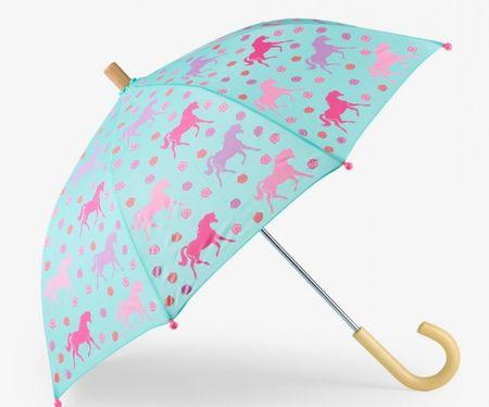 Hatley Dívčí deštník s koníky