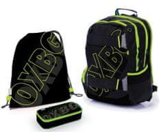 Karton P+P školski komplet OXY Sport BLACK LINE Green