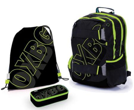 Karton P+P Školský set OXY Sport BLACK LINE Green