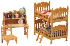 Sylvanian Families zestaw pokój dziecięcy z łóżkiem piętrowym